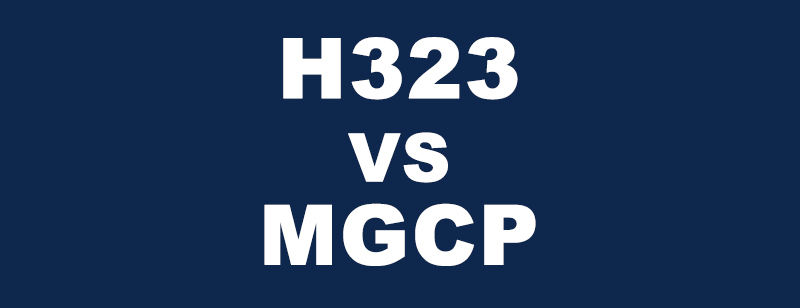 H323 AND MGCP COMPARSION